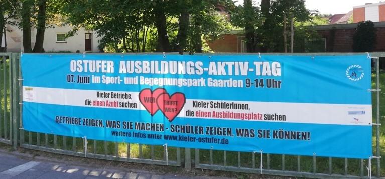 Banner Ostufer Ausbildungs-Aktiv-Tag